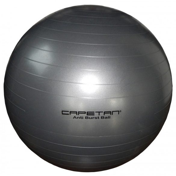 Capetan® Ezüst színű 75cm átm. Anti Burst Durranásmentes gimnasztikai labda