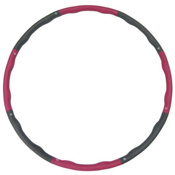 Capetan® Hullahopp karika 1000g súllyal masszázsfelülettel 98cm átm. - szivacsozott hulahopp karika