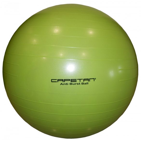 Capetan® LIME ZÖLD 75cm átm. Anti Bust durranásmentes gimnasztikai labda