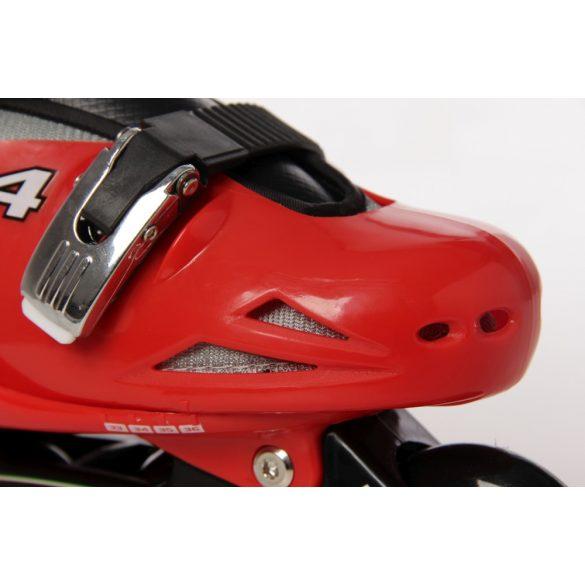 Ferrari® FK7 33-36 méret között állítható kétcsatos gyermek görkorcsolya Piros