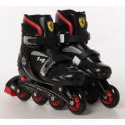 Ferrari® FK7 29-32 méret között állítható kétcsatos gyermek görkorcsolya Fekete