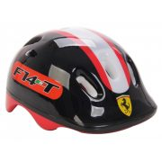 """Ferrari® """"Kiddy"""" bukósisak """"M"""" Fekete színben rollerhez - gördeszkához -"""