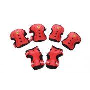"""Ferrari® """"M"""" méretű Piros színű Könyök + csukló + Térd"""