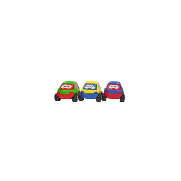 Arckifejezéses kisautók 3 db-os szett, Miniland