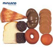 Sütemény és pékárú készlet szerepjátékokhoz, Miniland