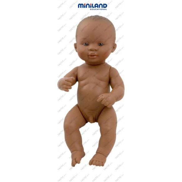 Afroamerikai karakter, fiú baba 32 cm