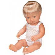 Európai karakter, fiú baba 40 cm