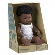 Afrikai karakter, fiú baba 38 cm