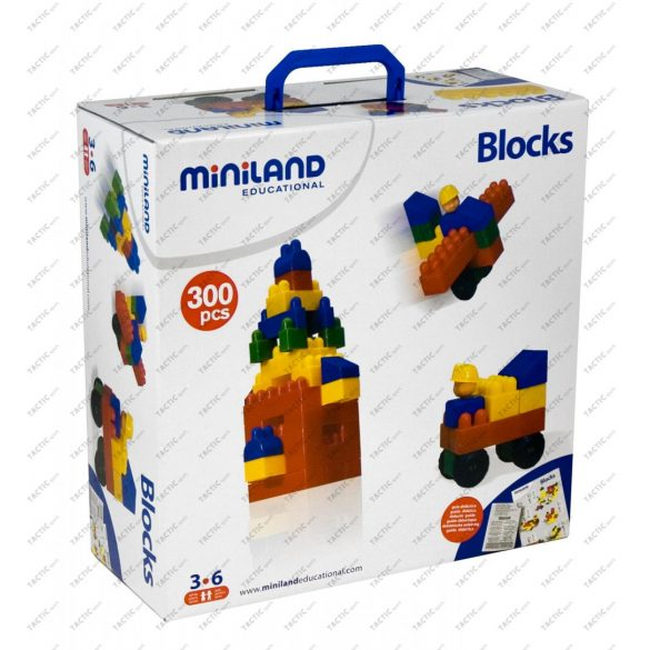 Blokk építőjáték, 300 db-os