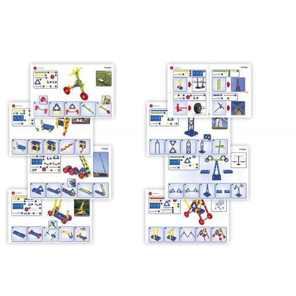"""Építő szett, Miniland 32650 """"Activity Mecaniko"""", 191 darabos"""