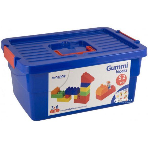 Gumi építőjáték, 52 db-os