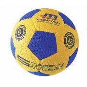 Megaform futball labda, street soccer No.5, hard gumi focilabda autógumi kerékmintázattal kültéri használatra