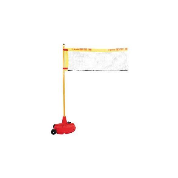 Könnyű háló 6,1mx0,76m, röplabda, tollas, tennisz játékokhoz mobil állványhoz