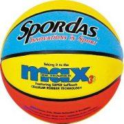 Tanulj meg kosarazni! Spordas 5-ös 25%-al könnyített kosárlabda a helyes kosártechnika elsajátításához
