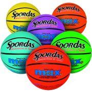 Spordas Max Basketball kosárlabda élénk színekben 7-es méret