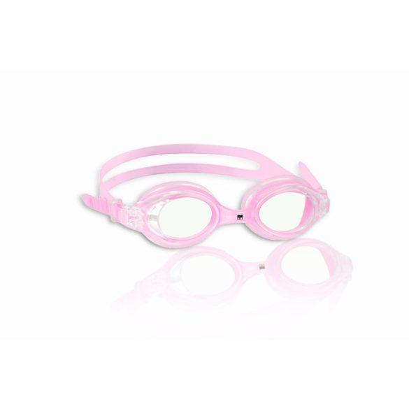Malmsten ESOX pink ifjúsági úszószemüveg áttetsző lencsével