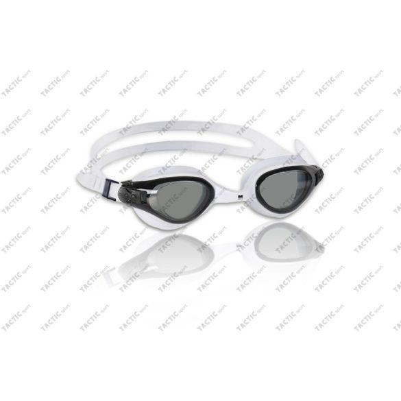 Malmsten Marlin Fehér úszószemüveg füstszínű antifog UV szűrős lencsével