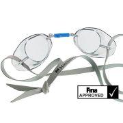 Svéd úszószemüveg sima átlátszó  - clear, FINA jóváhagyott versenyszemüveg,