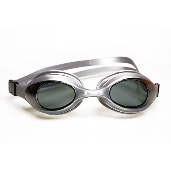 Malmsten Aqtiv felnőtt úszószemüveg ezüst színű kerettel szürkés színű lencsével,