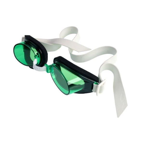 Malmsten TG edző úszószemüveg zöld, állítható orr nyereggel