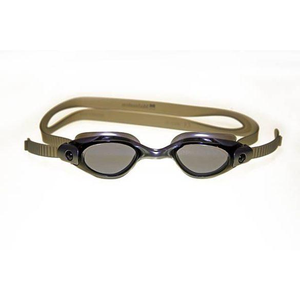 Malmsten Clique úszószemüveg gránit szürke, gyors beállítással, 12 éves kortól