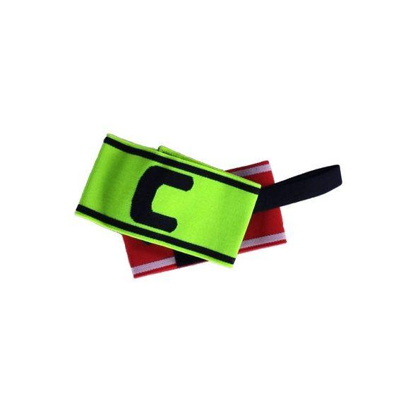 Csapatkapitányi karszalag zöld  C kapitány jelöléssel