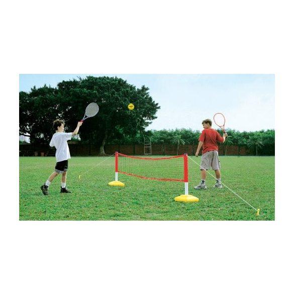 Hobbi tollas és teniszháló álvánnyal gyermekeknek, tölthető talppal