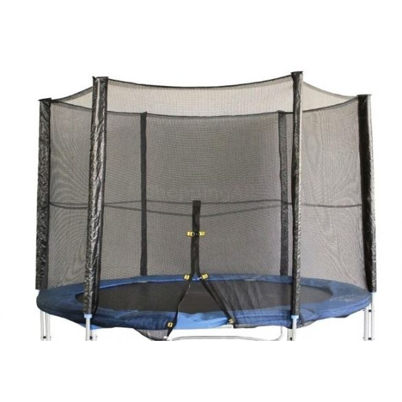 Védőháló 305 cm-es trambulinhoz cipzáras kivitel (külső hálós oszlopokra) 3