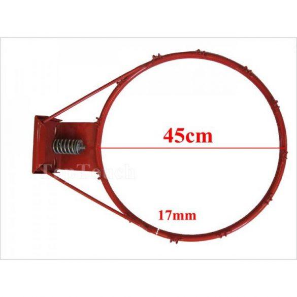 Tactic Sport rugós kosárgyűrű hálóval dupla 2x16mm gyűrűvel, porszórt fém