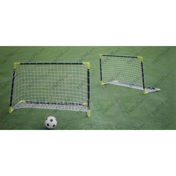 Mini Football kapu szett (PVC) 2 darab műanyag focikapu hordozható