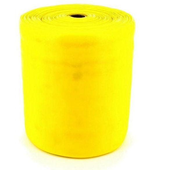 Gumi elasztikus tornaszalag 30 m-es fitband tekercs 45-ös fitness erősség,