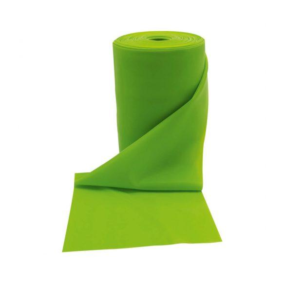 Gumi elasztikus tornaszalag fitband 30 m 55mm erős erősség, zöld