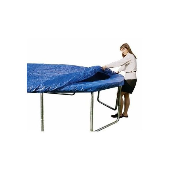 Takaróponyva védőtakaró 244 cm trambulinhoz, kék védőponyva