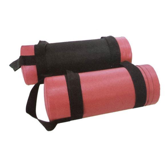 Power bag súlyzó zsák 15 kg, crossfit zsák (homokzsák) fogóval