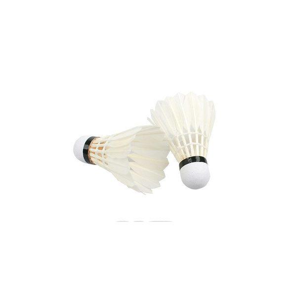Tollaslabda 6 db-os kiszerelés, fehér valódi toll parafa betétes fejjel