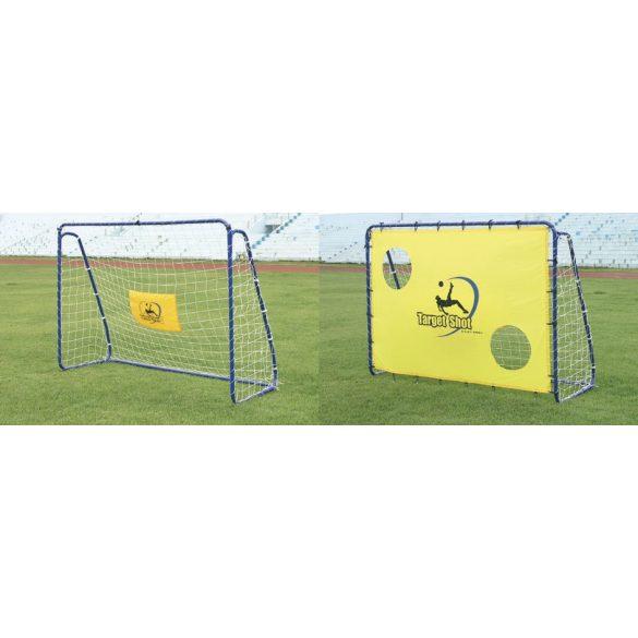 "Futball kapu célzófallal ""Target"" egy darab 213 x 152 x"