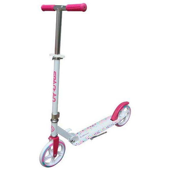 Roller 20x3cm kerekekkel ABEC7 csapágyazás, összecsukható 100 kg terhelhetőség, Pink