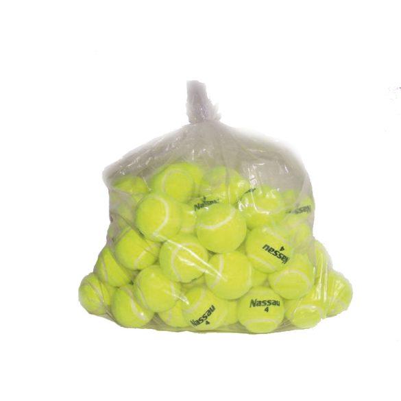 Nassau Utility trainer nyomás nélküli teniszlabda 10 db-os csomag