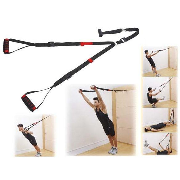 Multitréner kötél tréner otthoni használatra ajtó horgonnyal