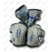 Flexibilis 6 részes görkorcsolya - gördeszka védőfelszerelés szett