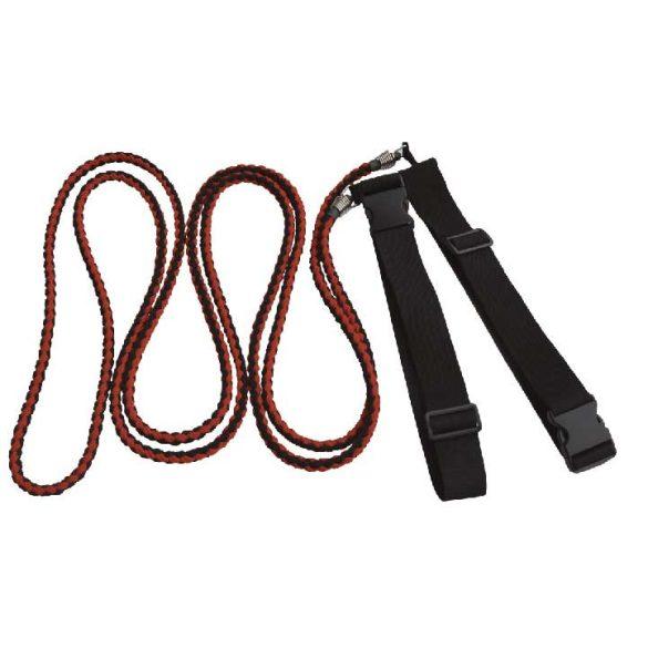 Multi Trainer kötéltréner derékra csatolható, páros edzésekhez ellenállás pánt cca.