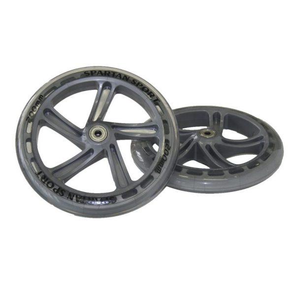 Roller pótkerék pár, 15 cm átmérő, ABEC 7 PU