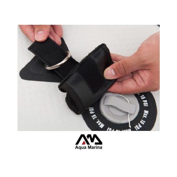 SUP lapát rögzitő tok D-ringhez 10x15cm neopren tépőzáras kivitel