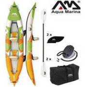 Aqua Marina erős strapabíró anyagú felfújható 412cm hosszú kétszemélyes kajak
