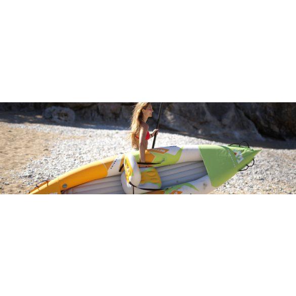 Aqua Marina strapabíró erős anyagú felfújható egyszemélyes kajak szett 312