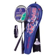 PRO LUXE badminton - állványos tollaslabda szett tartótokkal