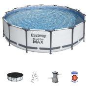Steel Pool Max 427 x 107cm fémvázas medence szett kiegészítőkkel