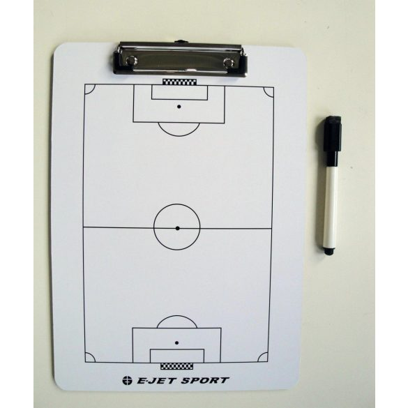Taktikai tábla,foci A/4 clippes papírcsiptetős