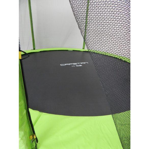 Capetan® Omega 183 cm átm. trambulin védőhálóval Lime színben kisgyermekeknek