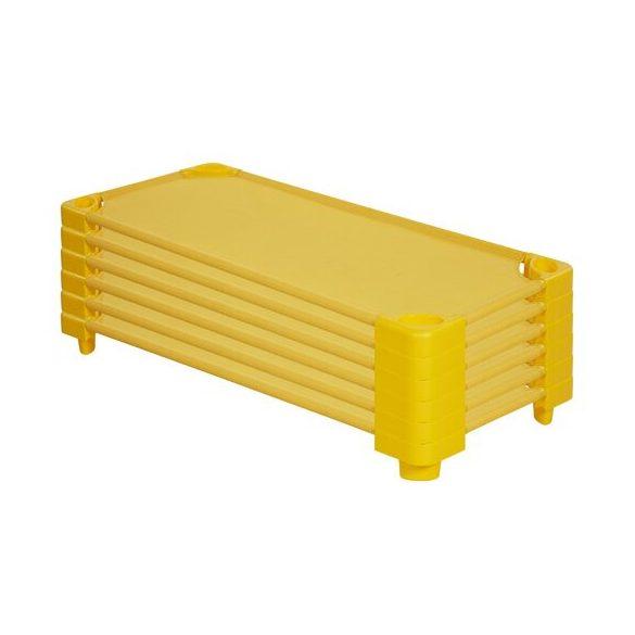 Tactic Color óvodai rakásolható műanyag ágy extra cserélhető fekvő felülettel,